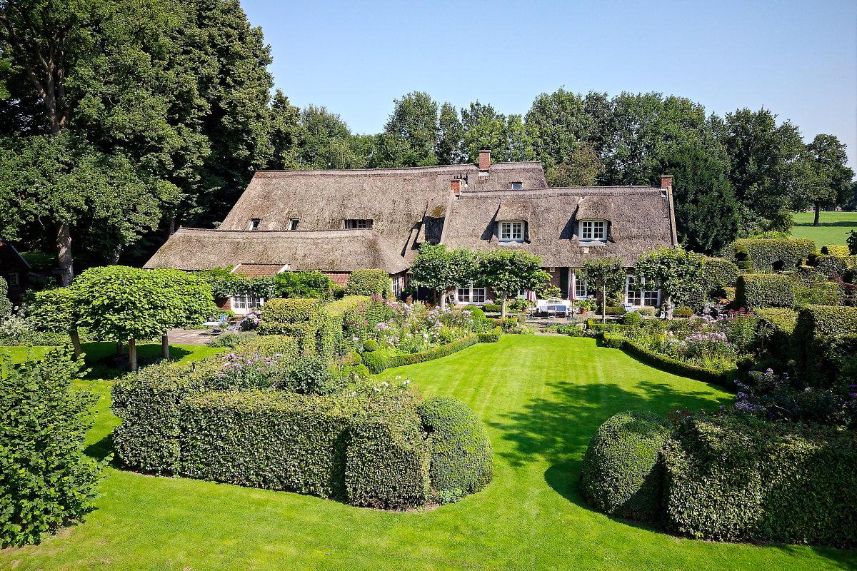 Erve Odinc: historische buitenplaats met idyllische tuin